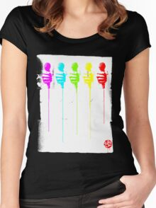 Five Mics Women's Fitted Scoop T-Shirt