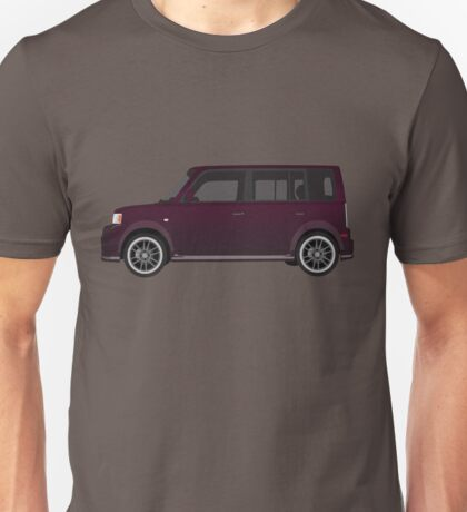 Vectored Boxcar Black Cherry Unisex T-Shirt