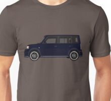 Vectored Boxcar Dark Blue Unisex T-Shirt