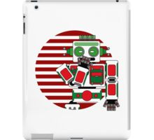 Robot Is Tired iPad Case/Skin