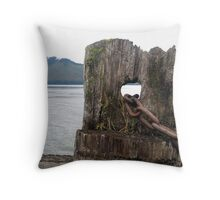 Icy Strait Point - Alaska Throw Pillow