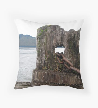 Icy Strait Point - Alaska Throw Pillow