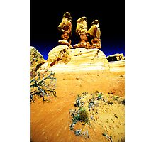 Three little Goblins Photographic Print