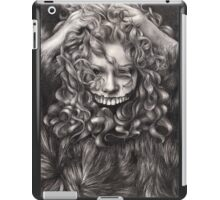 girl, invisible monsters Palahniuk, horror, face, dark, eyes iPad Case/Skin