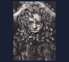 girl, invisible monsters Palahniuk, horror, face, dark, eyes Kids Clothes
