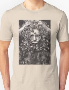 girl, invisible monsters Palahniuk, horror, face, dark, eyes Unisex T-Shirt