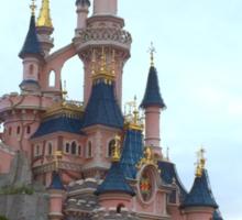 Disney Castle Quote Sticker