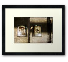 Mr & Mrs Someone a.k.a. clever eternity Framed Print