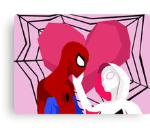 A Tangled Web Canvas Print