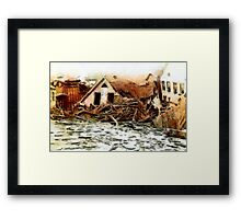 Johnstown Flood, Cambria County, Pennsylvania 1889 - all products Framed Print