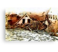 Johnstown Flood, Cambria County, Pennsylvania 1889 - all products Canvas Print