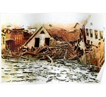 Johnstown Flood, Cambria County, Pennsylvania 1889 - all products Poster