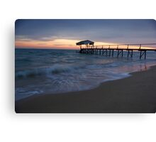 Tideways Jetty Sorrento Canvas Print