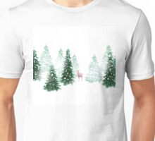 Christmas Background Unisex T-Shirt