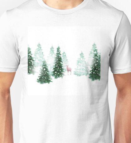 Christmas Background Unisex T-Shirt