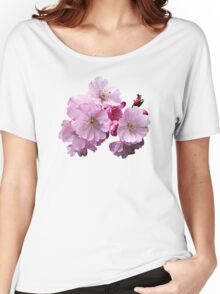 Closeup of Cherry Blossoms Women's Relaxed Fit T-Shirt