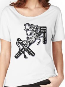 Sagittarius star sign  Women's Relaxed Fit T-Shirt