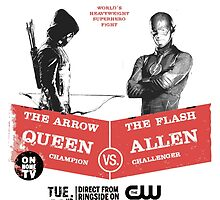 Arrow vs Flash TV shows by kramprusz