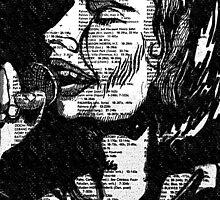 Freddie Mercury  by Hannah Jablonski