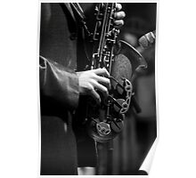 Old Sax Poster