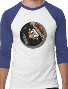 Robot Lost In Space Men's Baseball ¾ T-Shirt