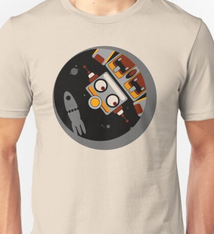 Robot Lost In Space Unisex T-Shirt