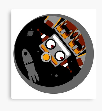 Robot Lost In Space Canvas Print