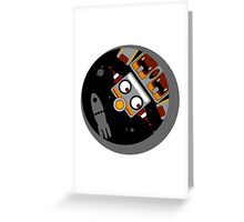 Robot Lost In Space Greeting Card