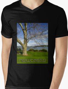 Winter By The Lake - T Shirt Mens V-Neck T-Shirt