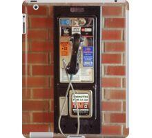 Vintage NYC street telephone iPad Case/Skin