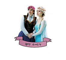 Anna & Elsa Photographic Print