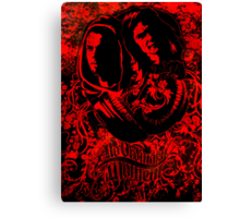 Jackal and Cheshire Poster Canvas Print