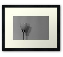 Three Lamps Framed Print