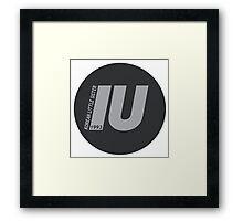 IU Framed Print
