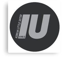 IU Canvas Print