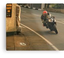 Isle of Man Road Racing 8 Metal Print