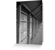 Covered Pedestrian Way Greeting Card