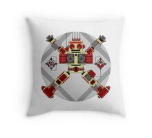 Robot Programme Update Throw Pillow
