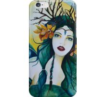 Spring Maiden faery iPhone Case/Skin