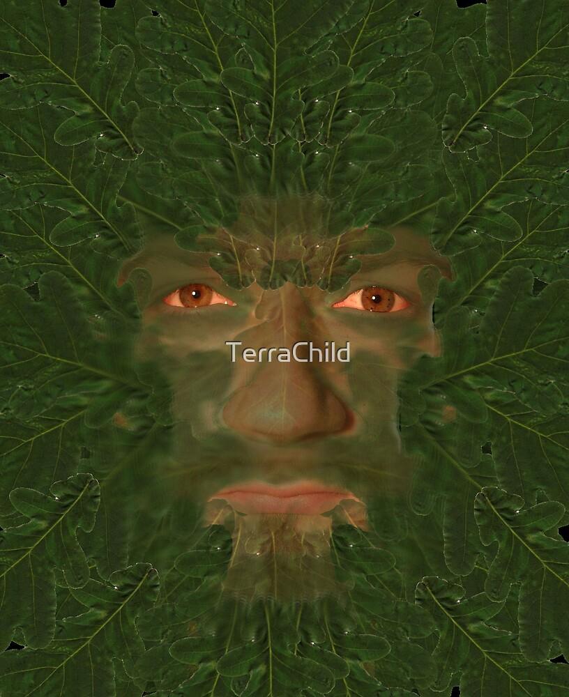 Green Man by TerraChild
