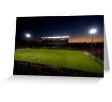 Hindmarsh Stadium Greeting Card