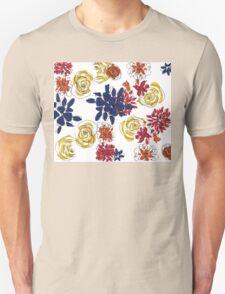 Flower color Unisex T-Shirt