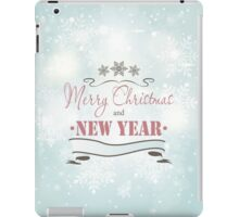 Christmas Background iPad Case/Skin