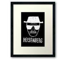 Heisenberg 4 Framed Print