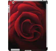 Textured Red Rose iPad Case/Skin
