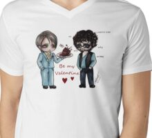 Hannibal: Be My Valentine Mens V-Neck T-Shirt