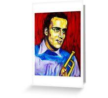 Portrait of Boris Vian Greeting Card