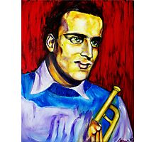 Portrait of Boris Vian Photographic Print