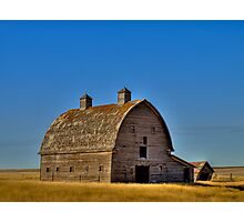 Prairie Silhouette Photographic Print