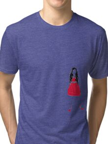 Girl in Red Tri-blend T-Shirt